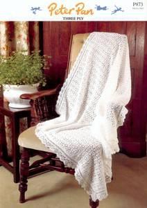 3 ply crochet baby shawl pattern
