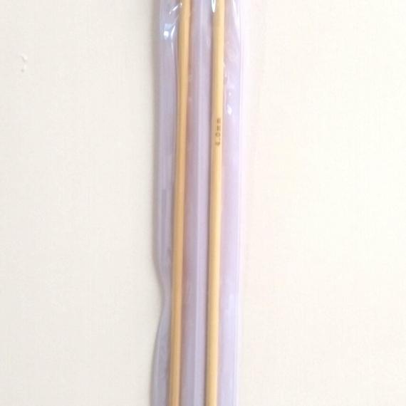 4.00mm Bamboo Needles 25cm