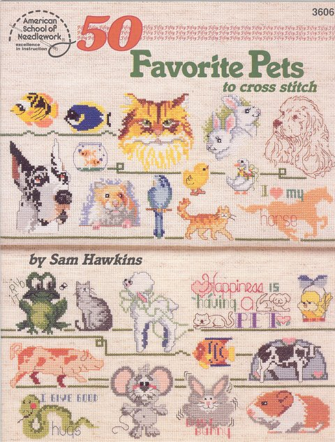 50 Favourite Pets to Cross Stitch