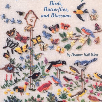 An Encyclopedia of Ribbon Embroidery, Birds, Butterflies, and blossoms