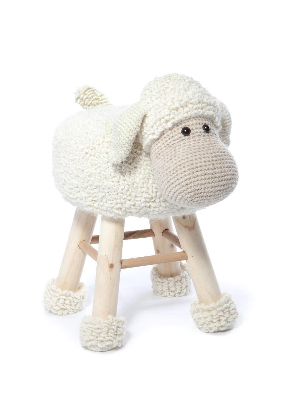 Buy Animal Stool Crochet Part 1 Anja Toone 183 Afterpay