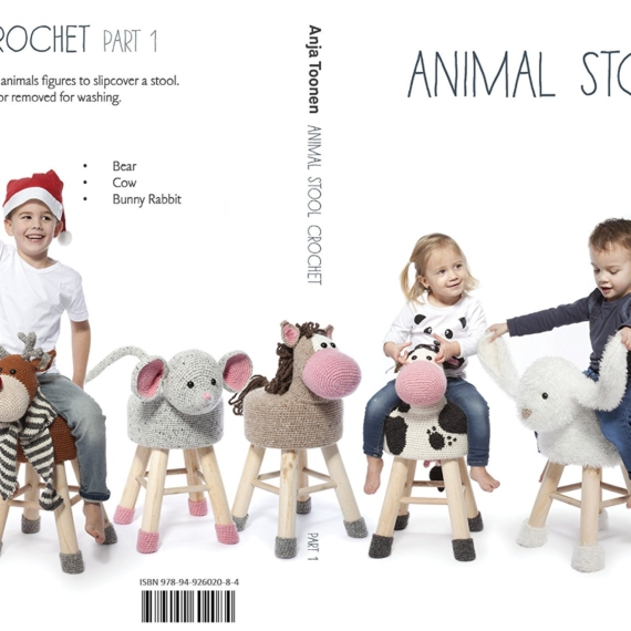 Animal Stool Crochet part 1 - Anja Toone