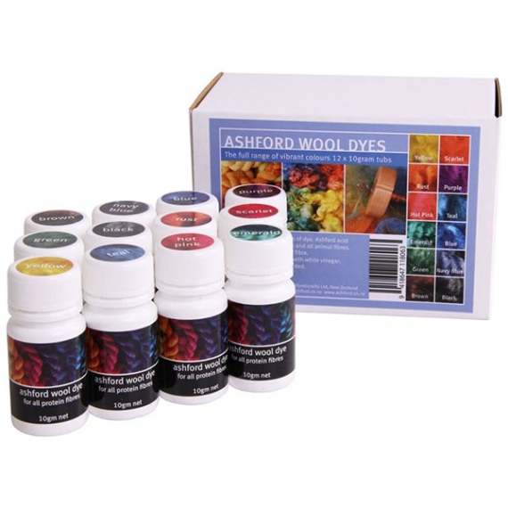 Ashford Dye Collection 12 pack