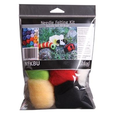 Ashford Needle Felted Bugs Kit