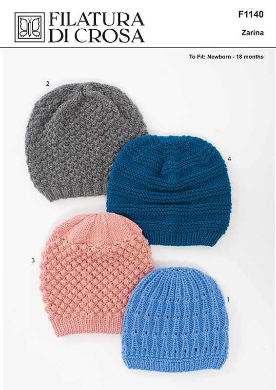 Buy Baby Beanies 4ply Pattern · AfterPay Zip · The Wool Room f52b550ac6c