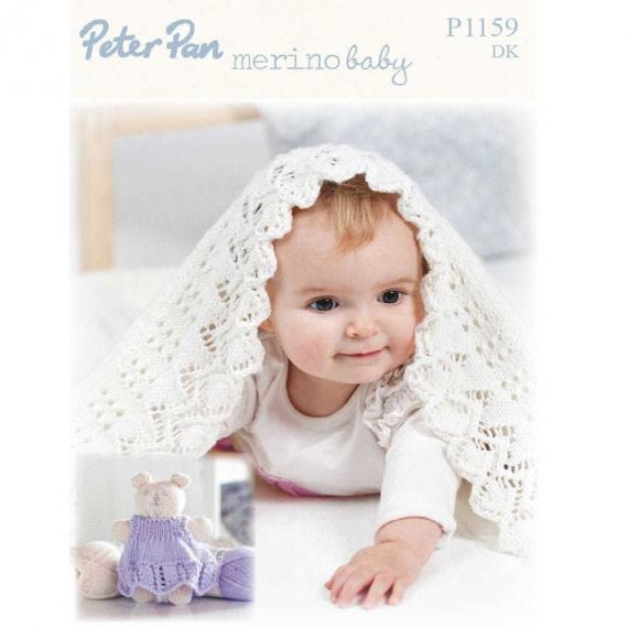 Baby Shawl 8ply Pattern