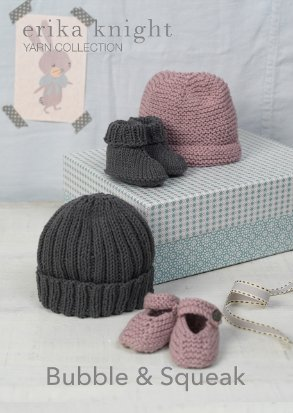 Beanies & Booties Knitting Pattern 8ply