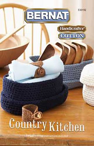 Bernat Cotton Country Kitchen Crochet