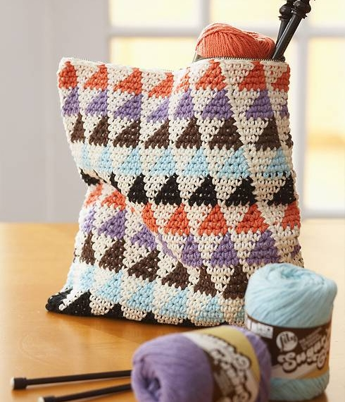 Bernat Cotton It's In the Bag Crochet