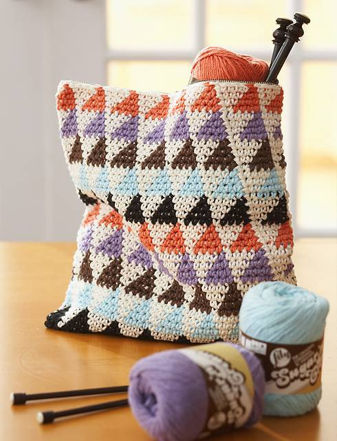 Bernat Cotton It's In the Bag Crochet