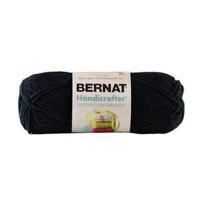 Bernat Handicrafter Cotton Black Liquorice