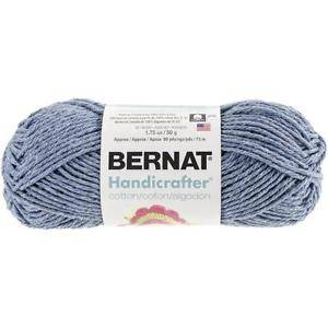 Bernat Handicrafter Cotton Blue Jeans