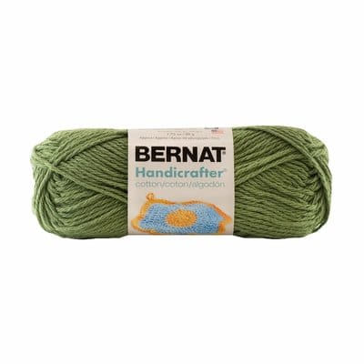 Bernat Handicrafter Cotton Green