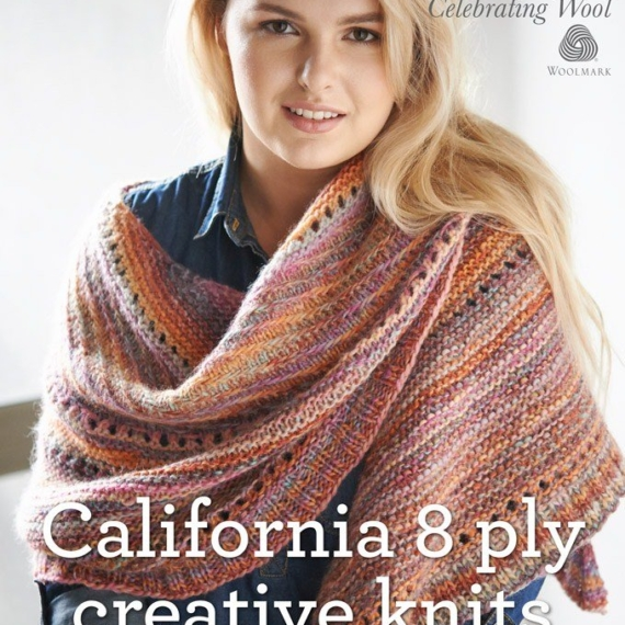 California 8 ply Creative Knits Pattern
