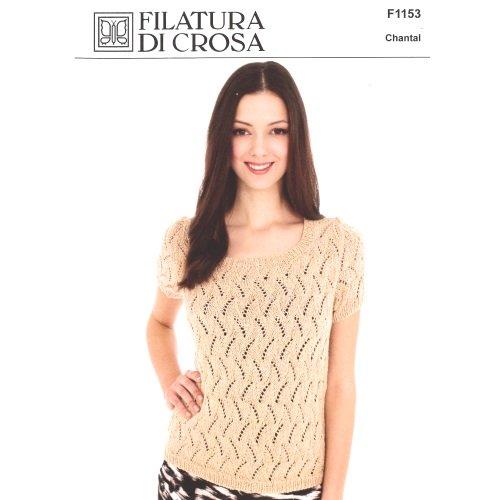 Chantal Short Sleeve Lace Top Pattern