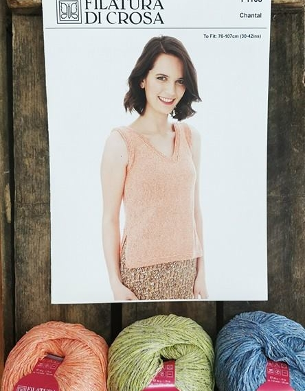 Chantal V-Neck Top Knit Kit