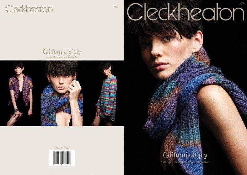 Cleckheaton California 8ply Pattern #3002