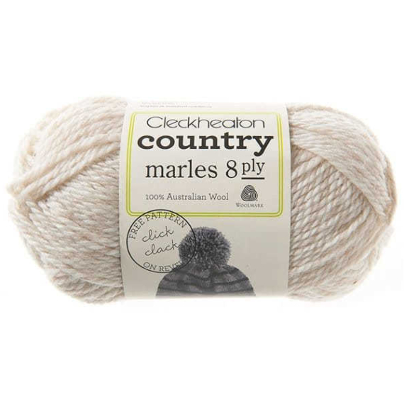 Cleckheaton Country 8 Ply Beige Marl - 0019