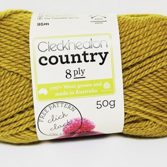 Cleckheaton Country 8 Ply Dijon #2313