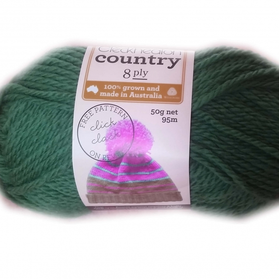 Cleckheaton Country 8 Ply Green 2346