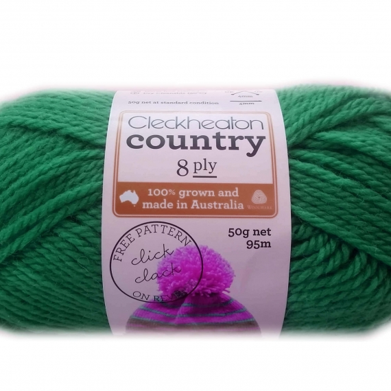 Cleckheaton Country 8 Ply Sea Green 2366