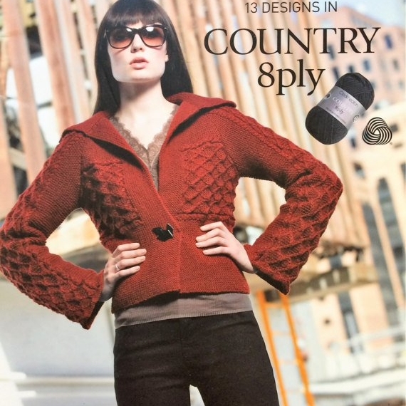 Cleckheaton Country 8ply book #971