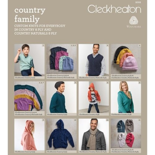 Cleckheaton Country Family 8 Ply #2002
