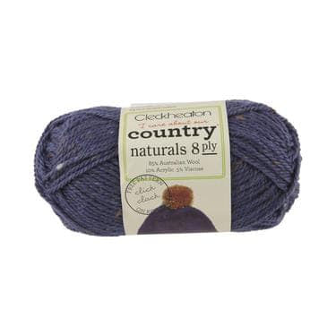 Cleckheaton Country Naturals 8 ply Denim - 1840