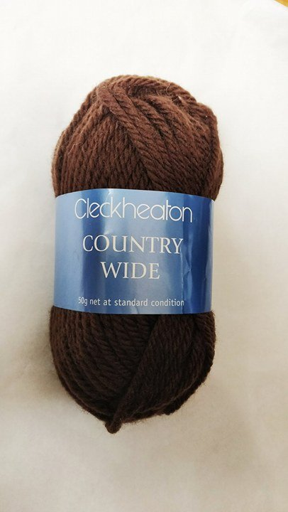 Cleckheaton Country Wide 14 Ply Dark Chocolate
