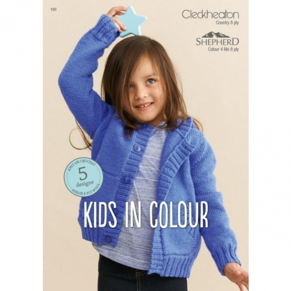 Cleckheaton Kids In Colour 8ply