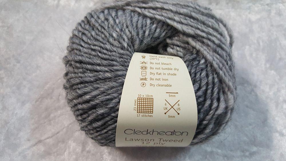Cleckheaton Lawson Tweed 12 Ply - Silver Fox