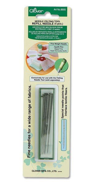 Clover Needle Felting Tool Refill - Fine