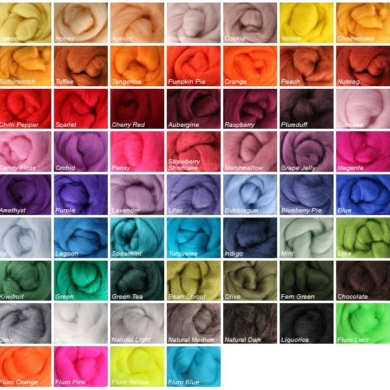 Corriedale Wool Roving 100g
