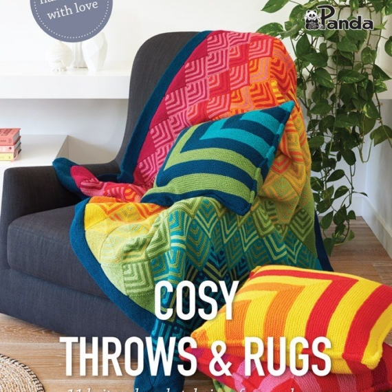 Cleckheaton Cosy Throws & Rugs Knit & Crochet
