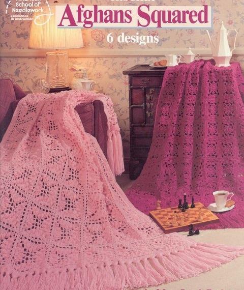 Crochet Afghans Squared