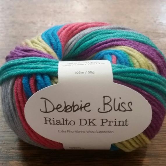 Debbie Bliss Rialto 8 Ply Circus Print