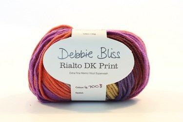 Debbie Bliss Rialto 8 Ply Print - Roma