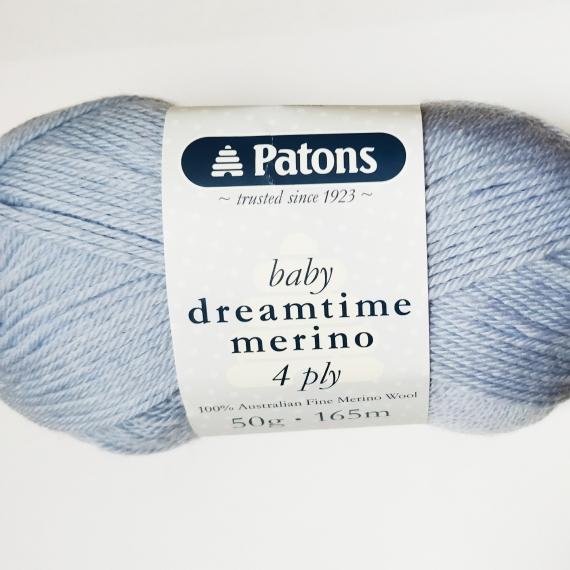 Dreamtime Merino Wool 4 ply Blue Steel - 4896