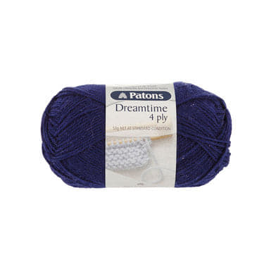 Dreamtime Merino Wool 4 ply Navy