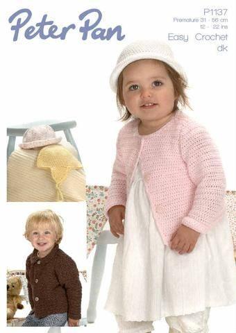 8 ply Crochet Dress & Cardigan