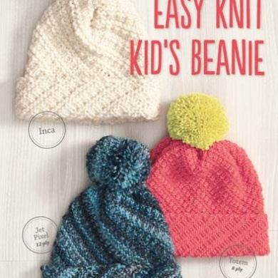 Easy Knit Kids Beanies