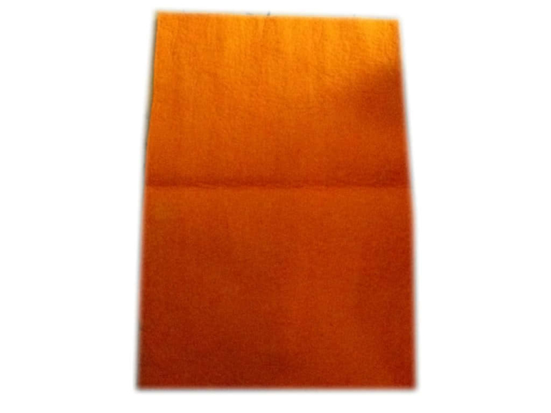 Felt Wool Sheet Orange