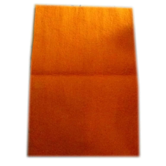 Felt Wool Sheet Orange