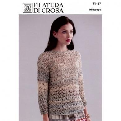 Filatura Di Crosa Minitempo Maria Pullover Pattern