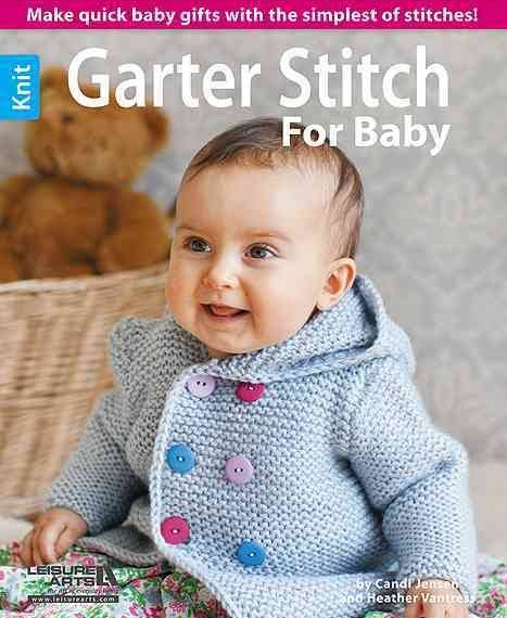 Garter Stitch For Baby Book