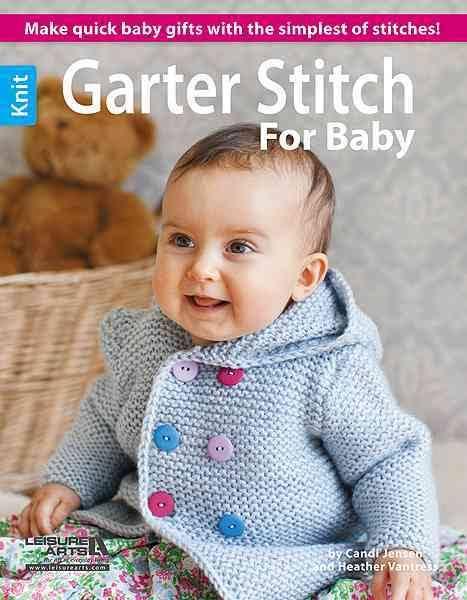 Garter Stitch For Baby Book