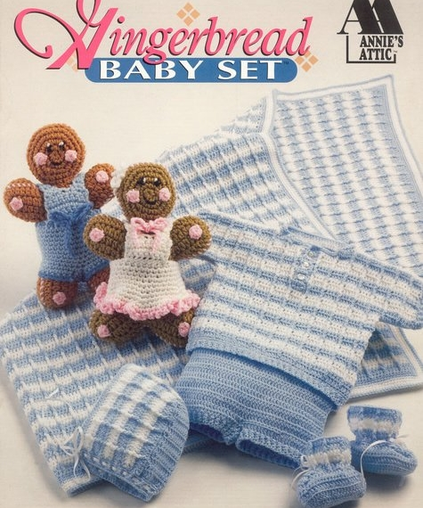 Buy Gingerbread Baby Set Crochet Annies Attic Afterpay Zip The