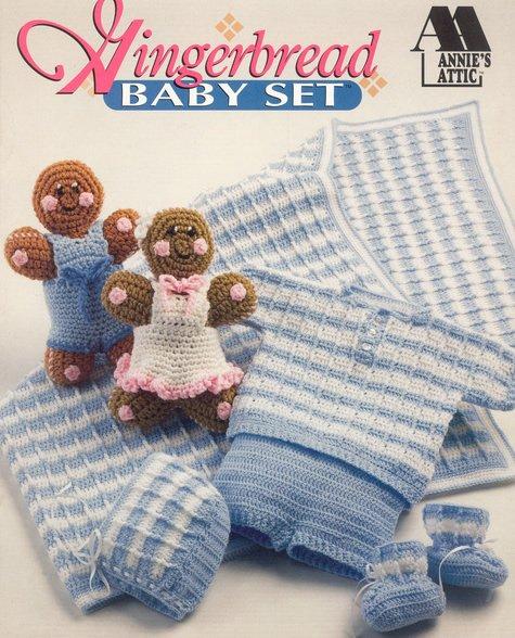 Gingerbread Baby Set Crochet - Annies Attic