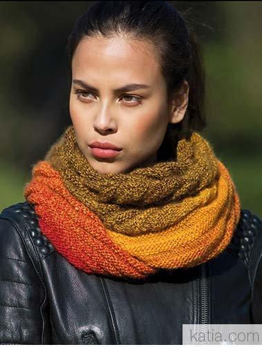 Katia Infinity Shawl Merino Wool #304