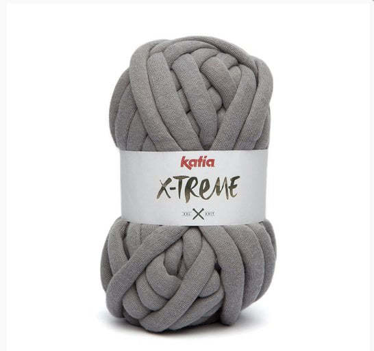 Katia X-Treme Yarn - Light Grey